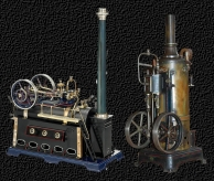Doll & Co. Nürnberg 1898 - 1936 Modell  Dampfmaschinen  -  Toy Steam Engine